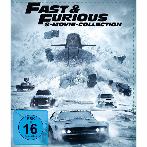 Fast & Furious - 8-Movie Coll.