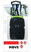 Move Combi Luggage Strap 190x5cm, Green