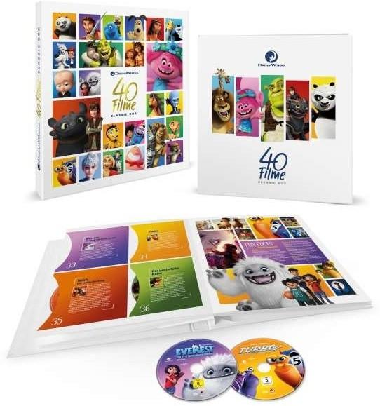 Dreamworks Classics Komplettbox - 40 Filme