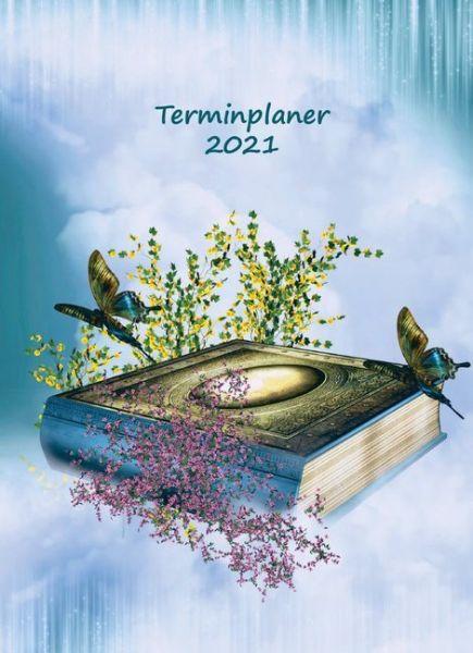 Image of Terminplaner 2021: Dein Kalender Notizbuch zum Termine planen - Monatsplaner & Wochenplaner - Ideal