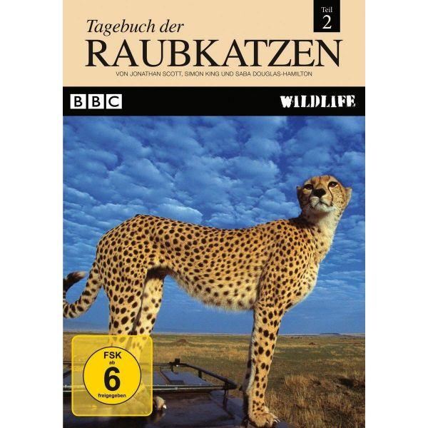 BBC Wildlife: Tagebuch der Raubkatzen (Teil 2)