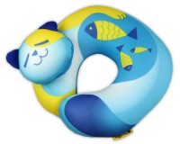 Travel Blue Cat Fun Pillow