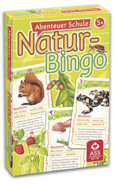 Image of Abenteuer Schule - Natur-Bingo (Kartenspiel)