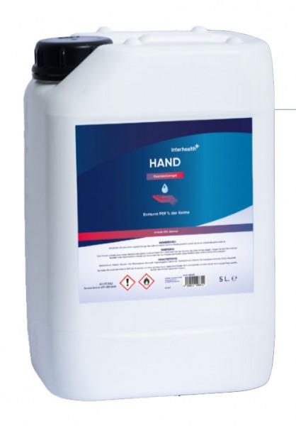 Interhealth Handdesinfektiongel 5 Liter
