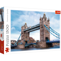 Trefl Puzzle Tower Bridge an der Theme 1500 Teile