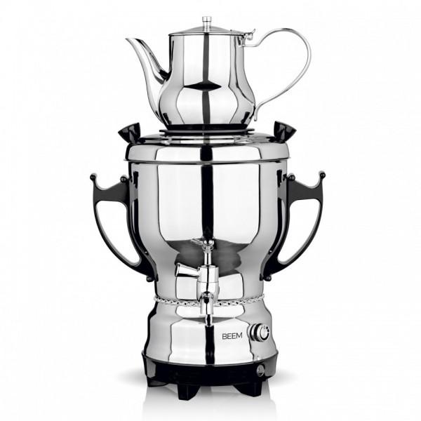 Image of Beem Samowar 2030S 3 Liter Wasserb. 1.2 Liter Teekanne 1500 W