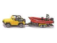 SIKU Jeep mit Boot