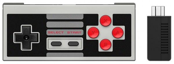 Image of 8bitdo NES30 Retro Receiver Set