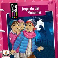 Die drei !!! - 073 Legende der Einhörner