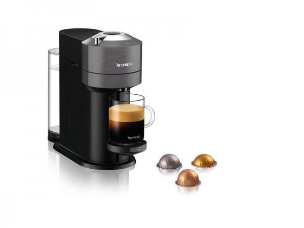 De'Longhi Kaffeemaschine Nespresso Vertuo Next Grau ENV120.GY