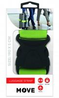 Move Luggage Strap 190x5cm, Green