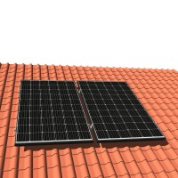 Solar-pac mini Solaranlage 620 W Schrägdach