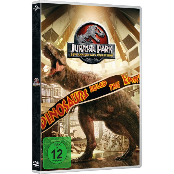 Jurassic Park 1-3&Jurassic World