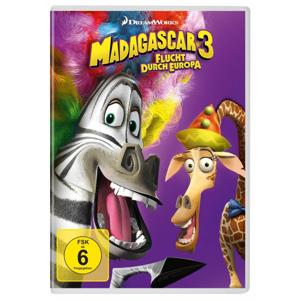 Madagascar 3-Flucht Durch Europa