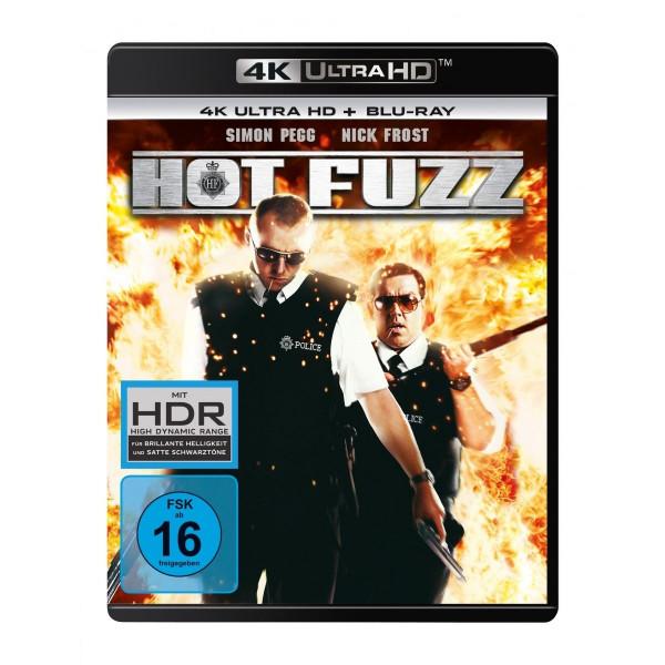 Hot Fuzz 4K Uhd