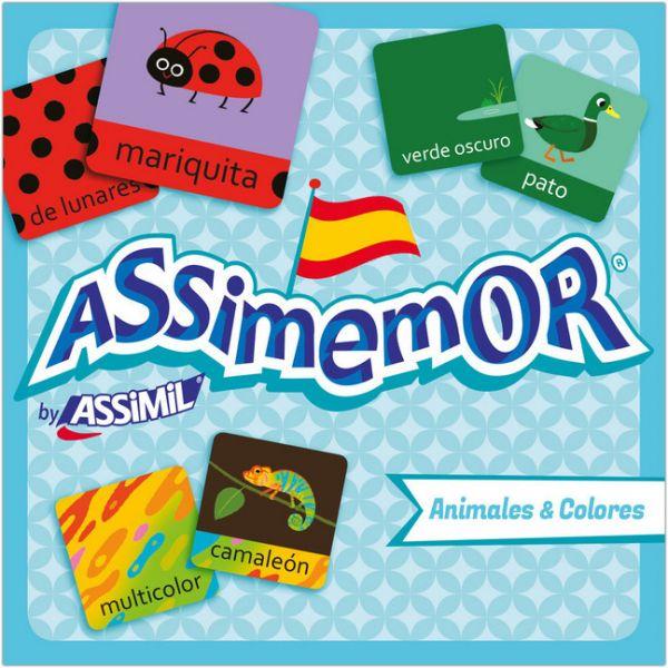 Image of Assimemor, Animales & Colores - Tiere & Farben (Kinderspiel): Das kinderleichte Spanisch-Gedächtniss