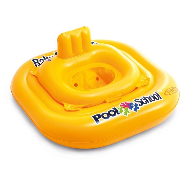 INTEX Babysicherheitsring Pool School Deluxe, 79x79 cm, max. 15 kg, ab 1 Jahr