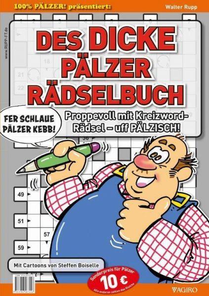 Image of DES DICKE PÄLZER RÄDSELBUCH