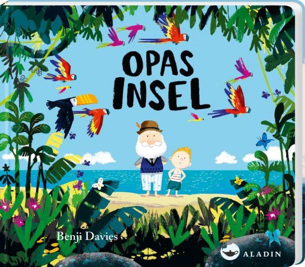 Image of Opas Insel: Pappbilderbuch ab 18 Monaten