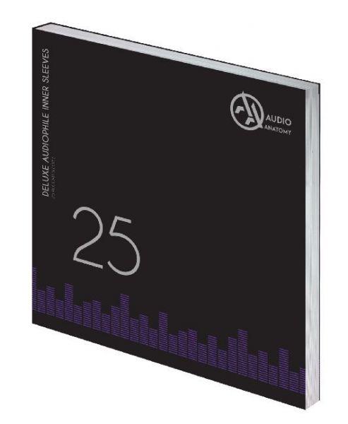 """Image of Deluxe Schallplatten Innenhüllen Antistatisch Weiß 90 gr - 25 Stück: Inner Sleeves - 25 x 12 Deluxe"""""""