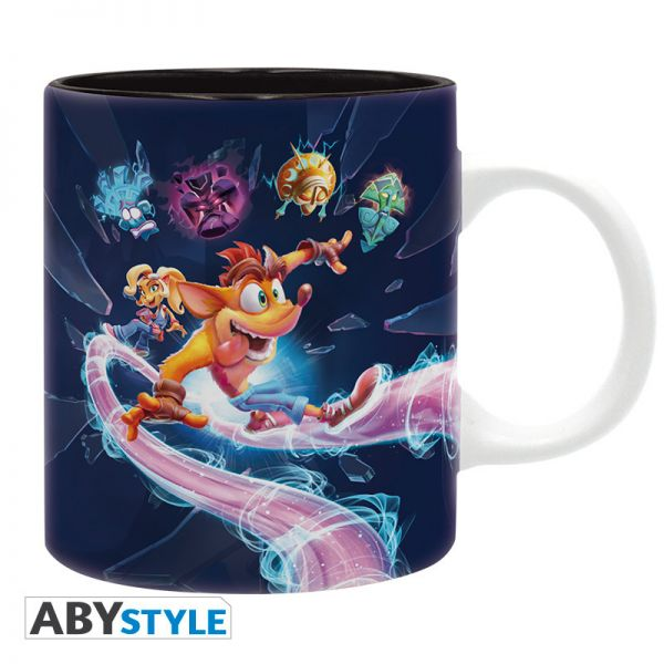 Image of ABYstyle - Crash Bandicoot It'S About Time 320 ml Tasse
