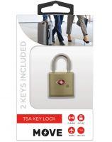 Move TSA Key Lock, Gold