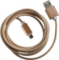 Peter Jaeckel Fashion 1,5m USB Data Cable micro USB Gold
