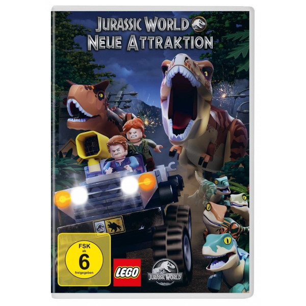Lego Jurassic World Neue Attrakti