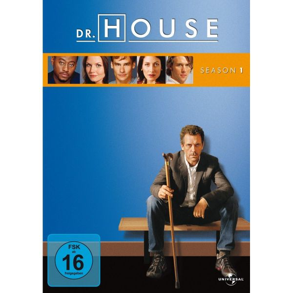 Dr. House Season 1 6Er Repl.