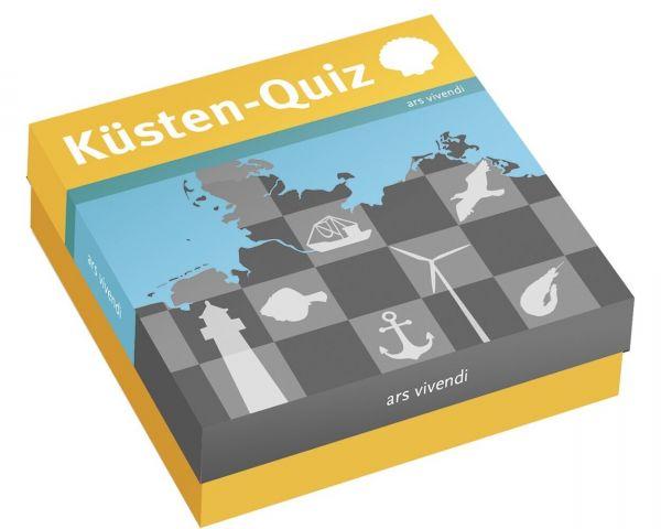 Image of Das Küsten-Quiz (Spiel): 66 Fragen rund um das Küstengebiet Deutschlands