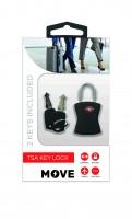 Move TSA Key Lock, Black