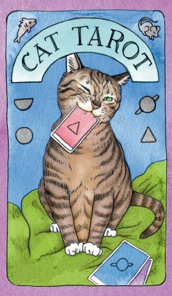 Image of Cat Tarot: 78 Cards and Guidebook
