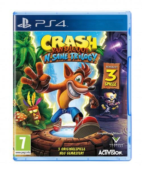 Image of Crash Bandicoot N. Sane Trilogy, PS4