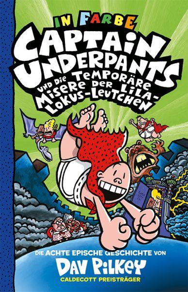 Image of Captain Underpants und die temporäre Misere der Lila-Lokus-Leutchen: Neu in der vollfarbigen Ausgabe