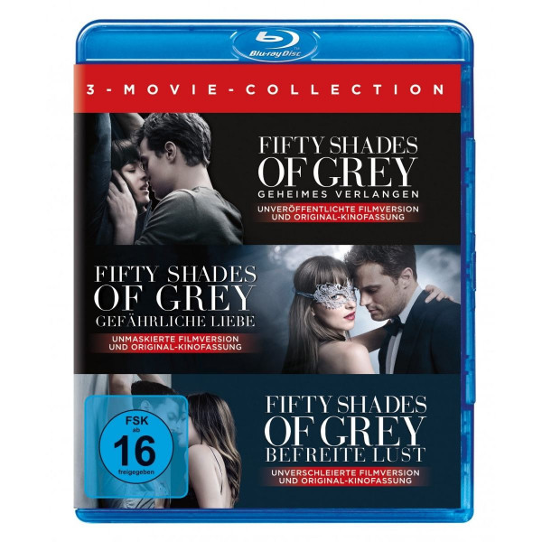 Fifty Shades Of Grey 1-3 Coll.