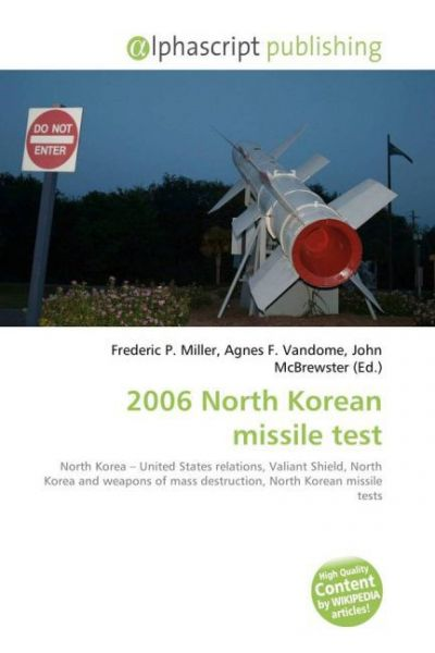 Image of 2006 North Korean missile test