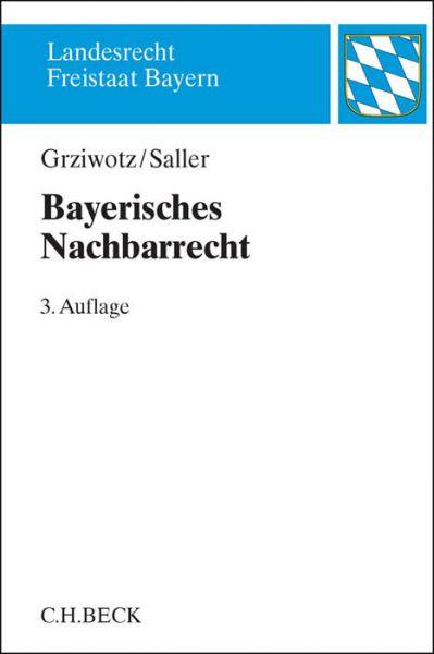 Image of Bayerisches Nachbarrecht