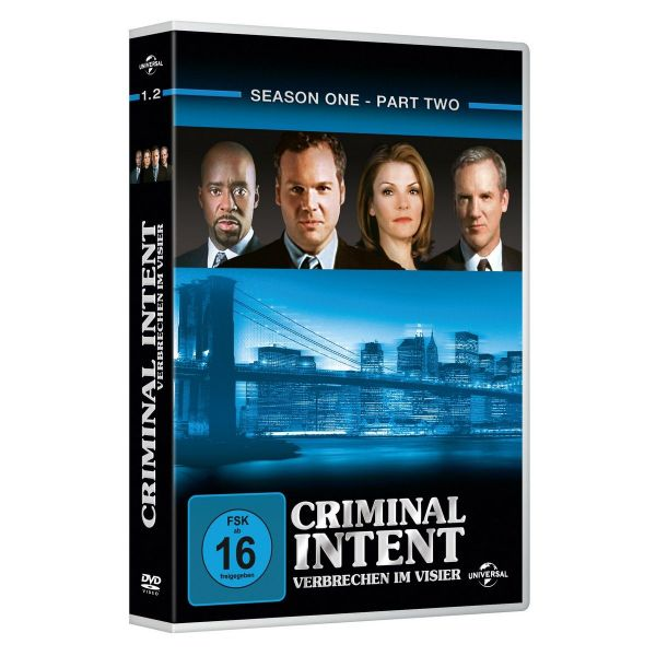 Criminal Intent S 1.2 3Er Repl.