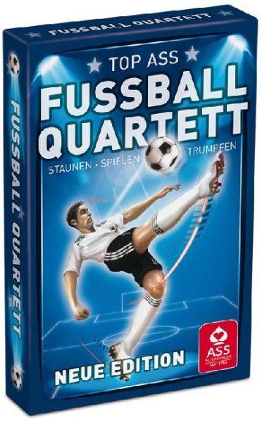 Image of Fußball Quartett (Kartenspiel): Mit 6 Booster- und Jokerkarten