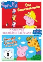 Peppa Pig Doppelpack - Das Feuerwehrauto & Gerald Giraffe
