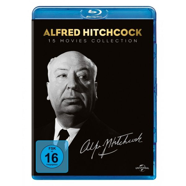 Alfred Hitchcock - 15 Movies Collection