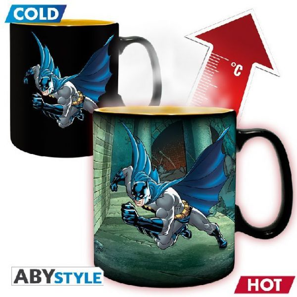 Image of ABYstyle - DC Comics Batman & Joker Thermoeffekt Tasse