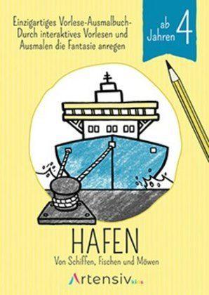 Image of Hafen - Malbuch ab 4 Jahren: Von Schiffen, Fischen und Möwen