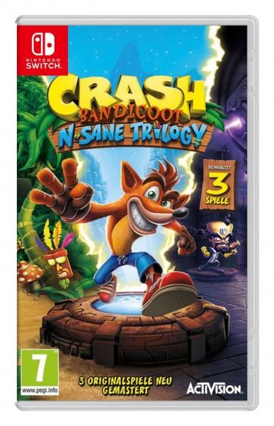 Image of Crash Bandicoot N. Sane Trilogy, Switch