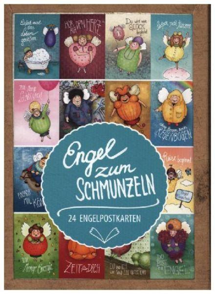Image of Engel zum Schmunzeln: 24 Engelpostkarten