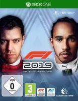 F1 2019, 1 Xbox One-Blu-ray Disc