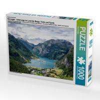 Ein Motiv aus dem Kalender Norwegen - Unterwegs im Land der Berge, Trolle und Fjorde (Puzzle): Blick