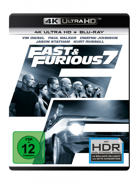 Fast & Furious 7 Uhd
