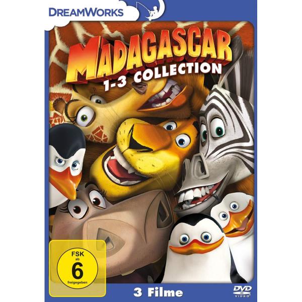 Madagascar 1-3 Collection