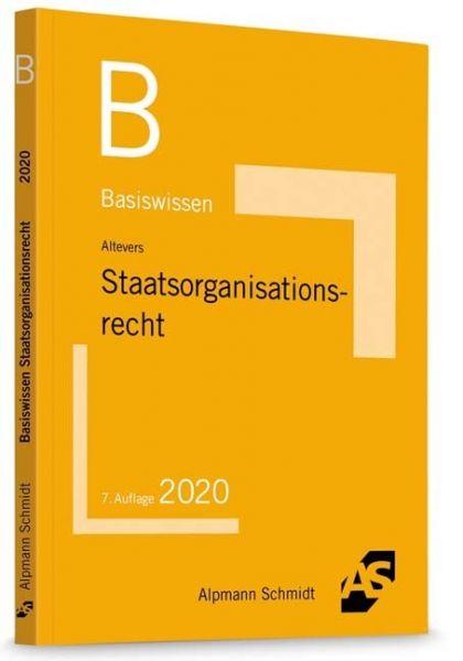 Image of Basiswissen Staatsorganisationsrecht